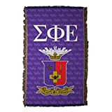 VictoryStore Blankets - Sigma Phi Epsilon Coat of Arms Woven Blanket