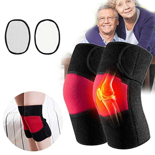 Ourine knieschutz warm kniewärmer wärme Knieschoner wärmetherapie Verband kniebandage knieorthese infrarot Therapie gegen gelenkentzündung knieschmerzen für Damen Herren senioren