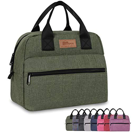 HOMESPON Bolsa Isotérmica de Almuerzo Lunch Bag Bolsa Té