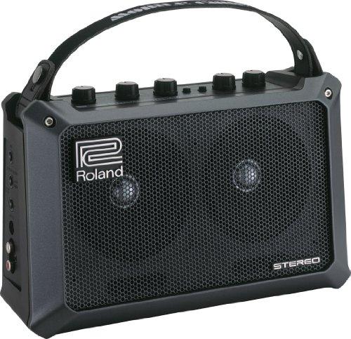 Roland 4.0685E+104 - Amplificador para guitarra stereo a pilas (importado)