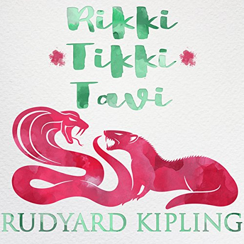 Rikki Tikki Tavi audiobook cover art