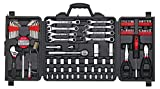 APOLLO TOOLS 101 Piece Mechanic Tool Set for Roadside Emergencies. SAE and Metric Tool Set for Mechanical Repairs for Boating, RV, Bikes, in Compact Carrying Case - DT0006