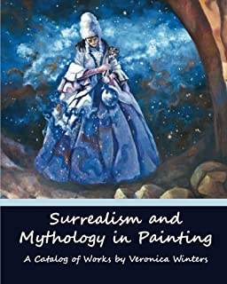 Surrealism and Mythology in Painting: Dali and van Gogh inspired art by Veronica Winters