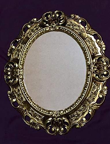 Barock Bilderrahmen Gold Barock Fotorahmen mit Glas Rokoko 45X37 Spiegelrahmen Antik