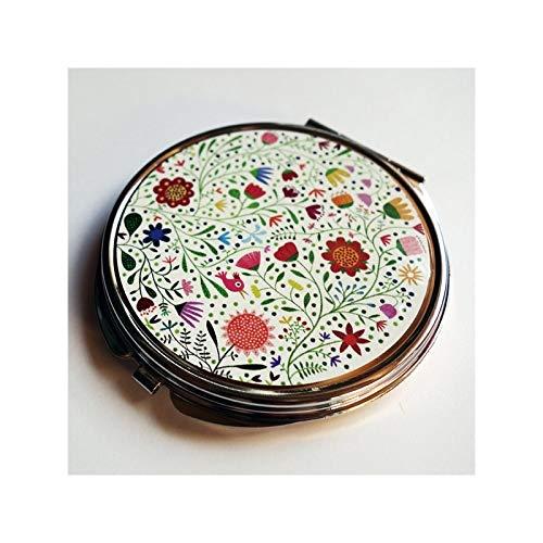 Taschenspiegel, Blumenstrauß