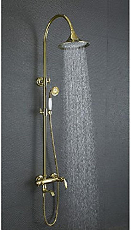 Robinet de douche et de baigschwarze style antique avec finition ti-PVD