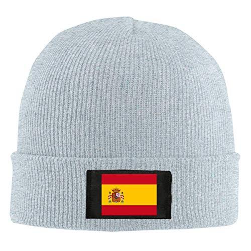 FULIYA Gorro de lana unisex con diseño de calavera de la bandera...