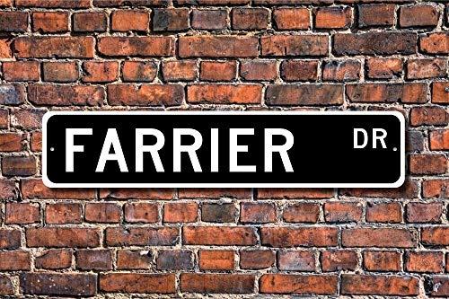 Nieuwe Farrier Gift Sign Farm Worker Ranch Helper Horse Hoof Reparatie 10x40 cm