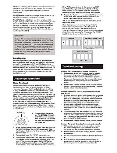 RCA rcr314wr Big botón mando a distancia universal, puede manejar hasta 3 dispositivos – Made para televisores, reproductores de DVD, cajas de satélite, vídeo, y cajas de Cable – gris, Pack de