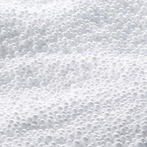 SMOOTHY 100 Liter EPS Perlen - Styroporkügelchen Styropor-Kugeln höchste Premium Virgin Qualität!
