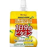 [Amazon限定ブランド] ハウスウェルネスフーズ PERFECT VITAMIN 1日分のビタミンゼリー グレープフルーツ味 With 180g×24袋