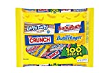Nestle Assorted Halloween Candy, Chocolate and Sugar, 100 Count (Pack of 1) , 53.4 Ounces
