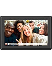Feelcare 16GB Smart WiFi Digital Picture Frame, Send Photos from Anywhere in The World, Touch Screen, IPS LCD Panel, Wall-Mountable, Portrait&Landscape
