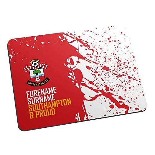Official PERSONALISED Southampton FC Proud Mouse Mat