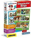 Clementoni 96094 Dinosaurier-Bingo Spielend Lernen, Mehrfarbig -