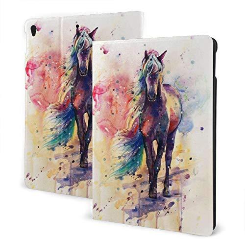 Every Day is Special Cute Ferret Funda para iPad Air 3rd Gen 10.5 '2019 / iPad Pro 10.5' 2017 Multi-Angle Folio Stand Auto Sleep / Wake para iPad 10.5 Pulgadas Tablet-Fantasy Mustang-One Size