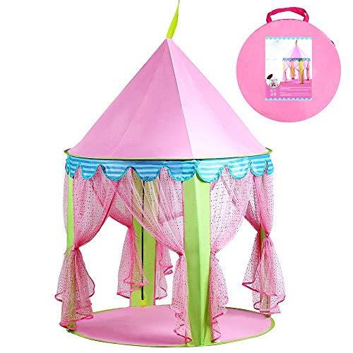 Meisje Prinses Roze Kasteel Tent Sprookjeskasteel Schattig Theater Indoor Theater Huis Kinderen Kinderen Spelen Slapende Speelgoed