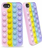 Elexal Fidget Toy Phone Case for iPhone 7 8 SE2020, Stress