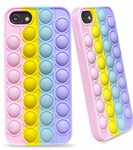Elexal Fidget Toy Phone Case for iPhone 7 8 SE2020, Stress Relief...