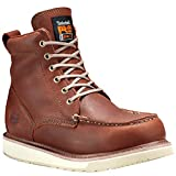 Timberland PRO Men's 53009 Wedge Sole 6' Soft-Toe Boot,Rust,8.5 W