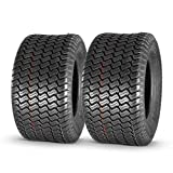 MaxAuto 20x10-10 20x10.00-10 Turf Tires for Lawn & Garden Mower 4 Ply, Set of 2