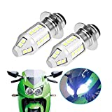 D&HO LED Headlight Bulbs Motorcycle for Yamaha YFZ450 Banshee 350 YFZ350 Kawasaki KLX250 Big Bear