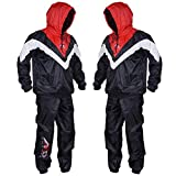 ARD-Champs Heavy Duty Sweat Suit Track Suit Sauna Exercise Gym Suit Fitness Weight Loss Anti-Rip (Medium)
