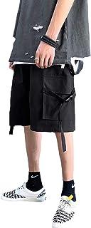[CCHY]ショートパンツ 五分丈 短パン カーゴパンツ ハーフパンツ イージーパンツ ポケット ストリート メンズp2314