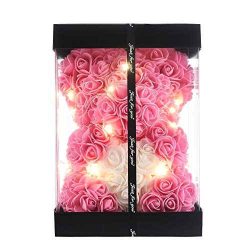 Gifts for Women,Rose Teddy Bear on Every Rose Bear -Flower Bear, Gifts...