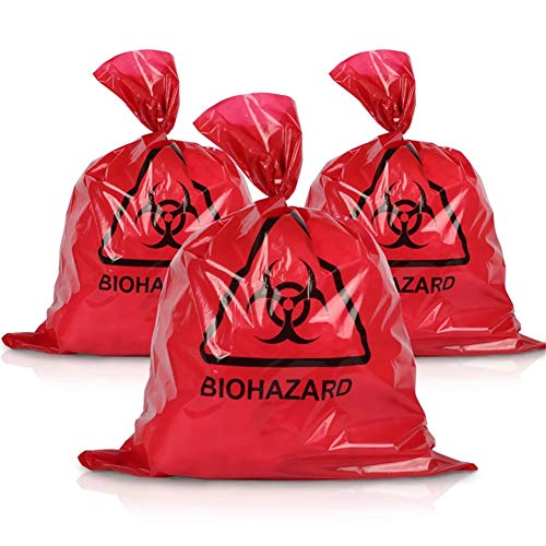 Biohazard Waste Disposal Bags for Medical Use 24