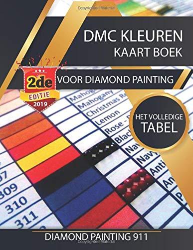 DMC Kleuren Kaart Boek Voor Diamond Painting: Het Volledige Tabel