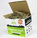 Nibble&Gnaw Timothy Hay 4.4Kg | Fresh, Green, Dust-Free, Long-Stem, Sun-Dried Feeding Hay | Rabbits, Guinea Pigs, Hamsters | Second Cut | 100% Natural Food
