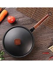 MONLEYTA Sartén Antiadherente para cocinar Huevos fritos para el Desayuno, panqueques, Pizza, Cocina