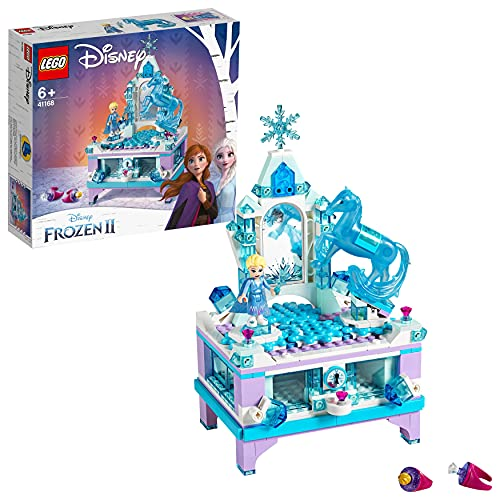 Lego 6251060 Lego Disney Frozen Lego Disney Frozen ElsaS Sieradendooscreatie - 41168, Multicolor