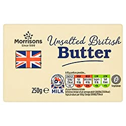Morrisons Unsalted British Butter, 250g