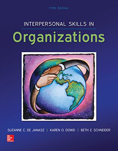Interpersonal Skills in Organizations with Premium Content Card