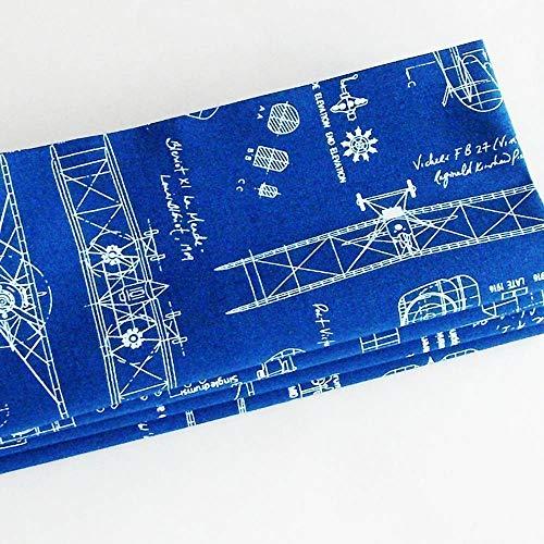 Handmade Antique Airplane Blueprints Napkins (Set of 4-100% Cotton) ME2Designs Table Decor