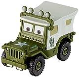 Mattel Disney Cars FBG31 - Disney Cars 3 Holiday Die-Cast Sarge mit Dachbeleuchtung