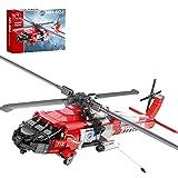 SESAY Componentes de ingeniería de avión, 1137 piezas, modelo HH-60J, compatible con tecnología Lego.