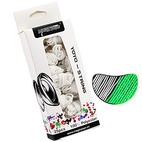CHEE MONG MAGICYOYO Professional Yoyo Strings, Polyester Yoyo Strings Glow...