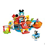VTech – Tut Tut Bolides - Le Magi- Garage Interactif de Mickey + Pick-up Magique de Mickey – Garage Voiture - Version FR