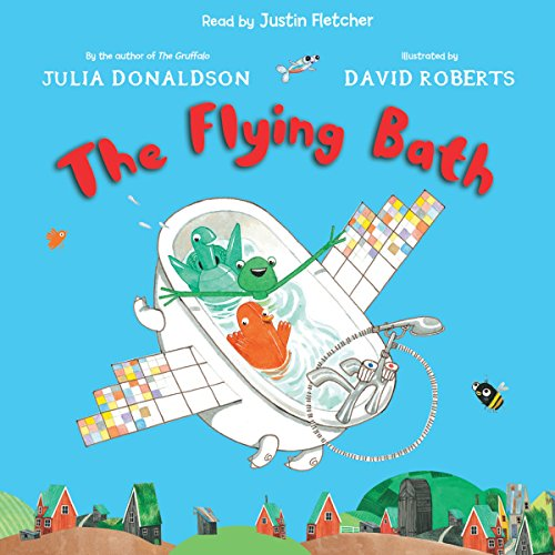 The Flying Bath audiobook cover art