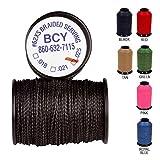 BCY Serving Thread 62-XS - Wickelgarn - Durchmesser .018 Zoll | Farbe: schwarz