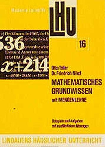 Mathematisches Grundwissen mit Mengenlehre: LHU 16, Stoff 5. und 6. Schuljahr - 850 Aufgaben