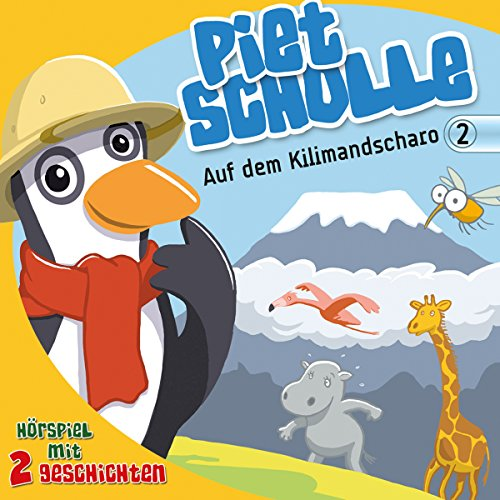 Auf dem Kilimandscharo audiobook cover art