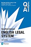 Law Express Question and Answer: English Legal System (Law Express Questions & Answers) (English Edition)