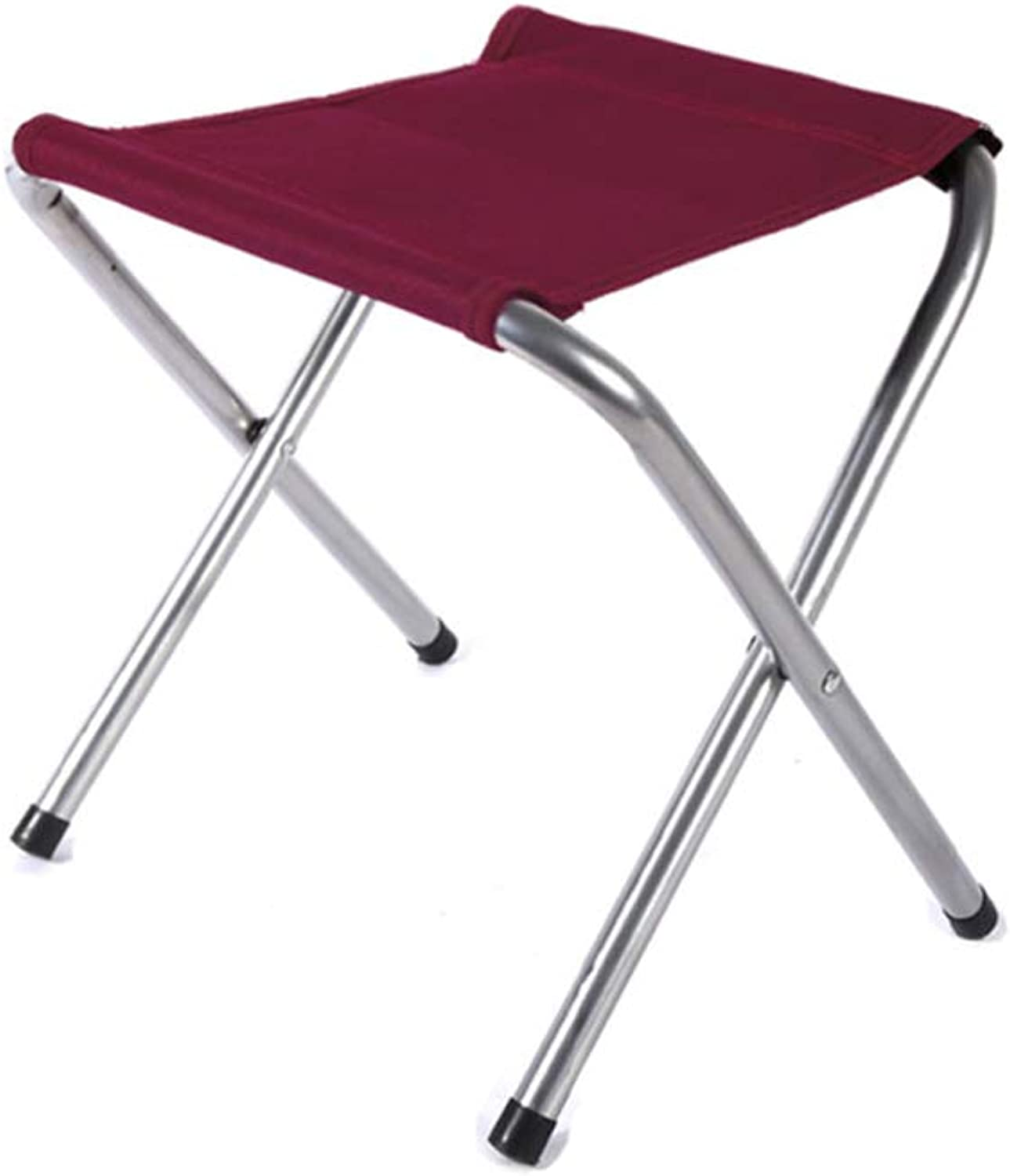 Mazar Folding Stool Outdoor Portable Leisure Fishing Chair Stool Red