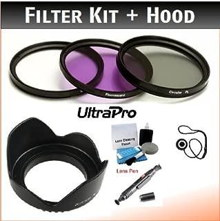 Bundle Includes: Lens Cleaning Pen Lens Cap Keeper /& UltraPro Deluxe Lens Cleaning Kit 82mm PREMIUM Filter Kit /& Digital Lens Hood Bundle for Digital Cameras UV, CPL, FLD