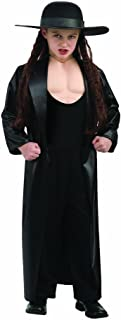 World Wrestling Entertainment Deluxe Child's Muscle Chest Costume, Undertaker Costume,Small (Size 4 to 6)