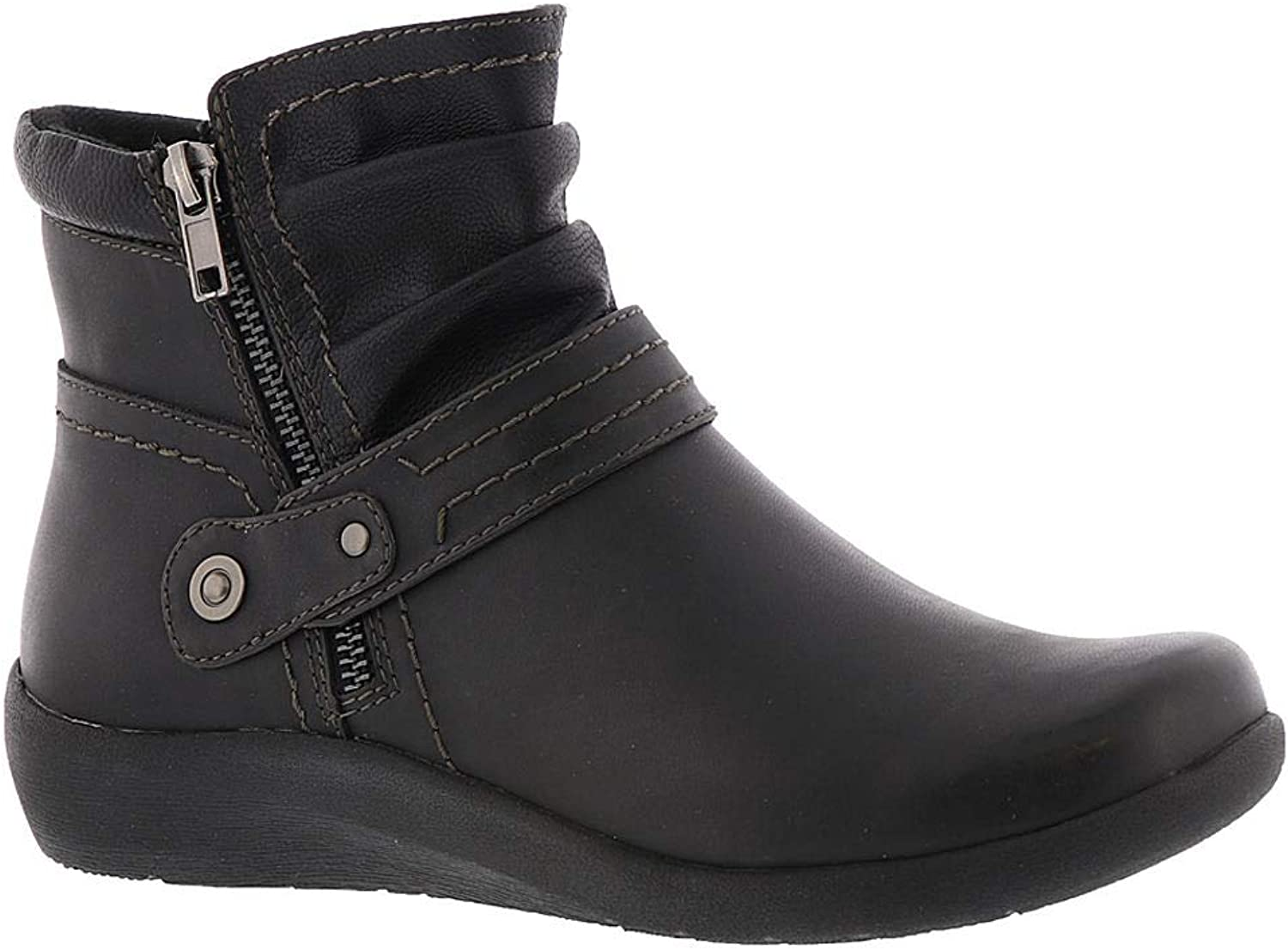 Earth Origins Womens Lilly Round Toe Ankle Fashion Boots